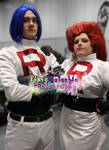 Team Rocket Cosplay, MCM Expo October 2013 by Pixie-Aztechia