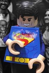 Lego Superman Cosplay, MCM Expo October 2013 by Pixie-Aztechia