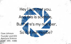 So Call Me Maybe For Science by NightSongWriter