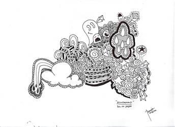 Doodle Mindanao by jcroxas