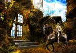 Rusty Metal Knight by jcroxas