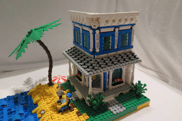 Beach House by spanglidermish