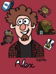 Happy Birthday Alex!! by KyraLynMoss