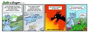 Enter the Ice Dragon by ZookieDragon