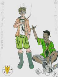 HP: Seamus and Dean by Saphari