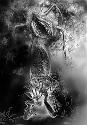 Ravenous thoughts 2014 Collab with  offermoord by MateoGraph