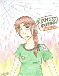 Katniss Everdeen by Sasuka6789