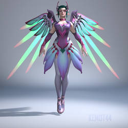 Mercy (Sugar Plum Fairy) [Overwatch] [Model] by Kemot44
