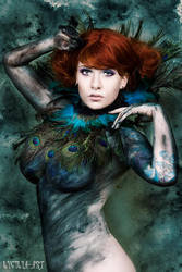 peacock by Lycilia