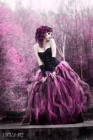 violet goth by Lycilia