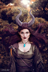 Maleficent by Lycilia