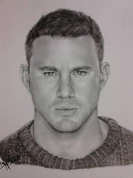 Channing Tatum by nandoartcastle