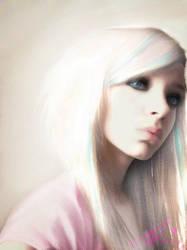 Blonde emo by roxaralu