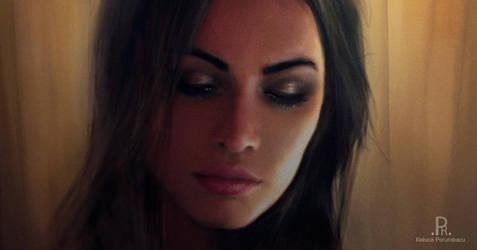 Megan Fox by roxaralu