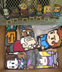 Community Pixel Beads by ph00
