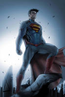 Superman by Brett Booth by Nezotholem