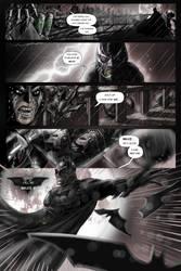 Bane and The Batman by Nezotholem