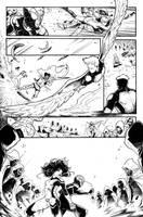 ALL NEW X-MEN PAGE TEST #03 by Nezotholem