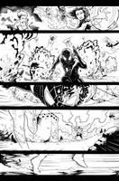 ALL NEW X-MEN PAGE TEST #04 by Nezotholem