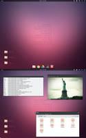 Ubuntu February Screenshot by 1inux