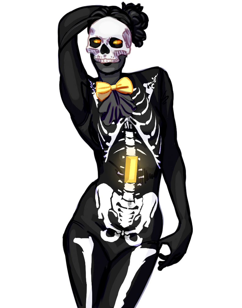 Skeleton Qaurtz by SmasherlovesEvil