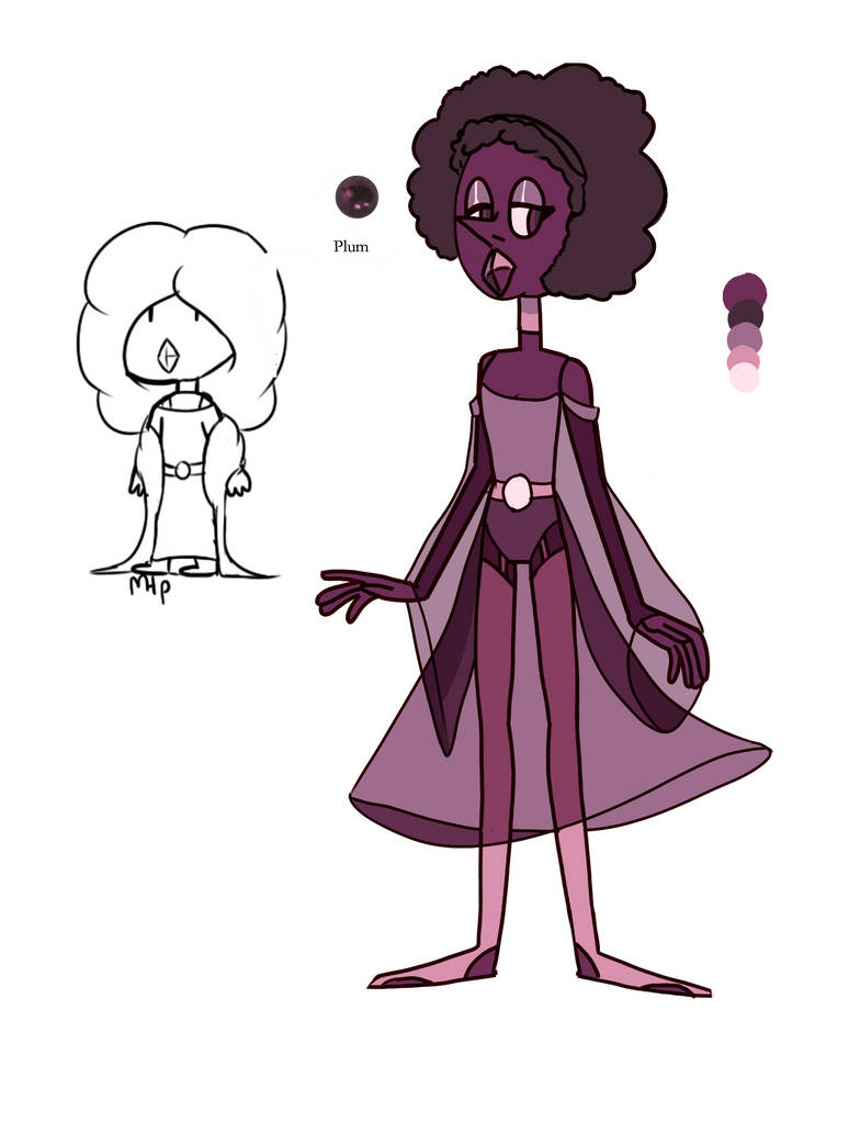 Plum Pearl by SmasherlovesEvil