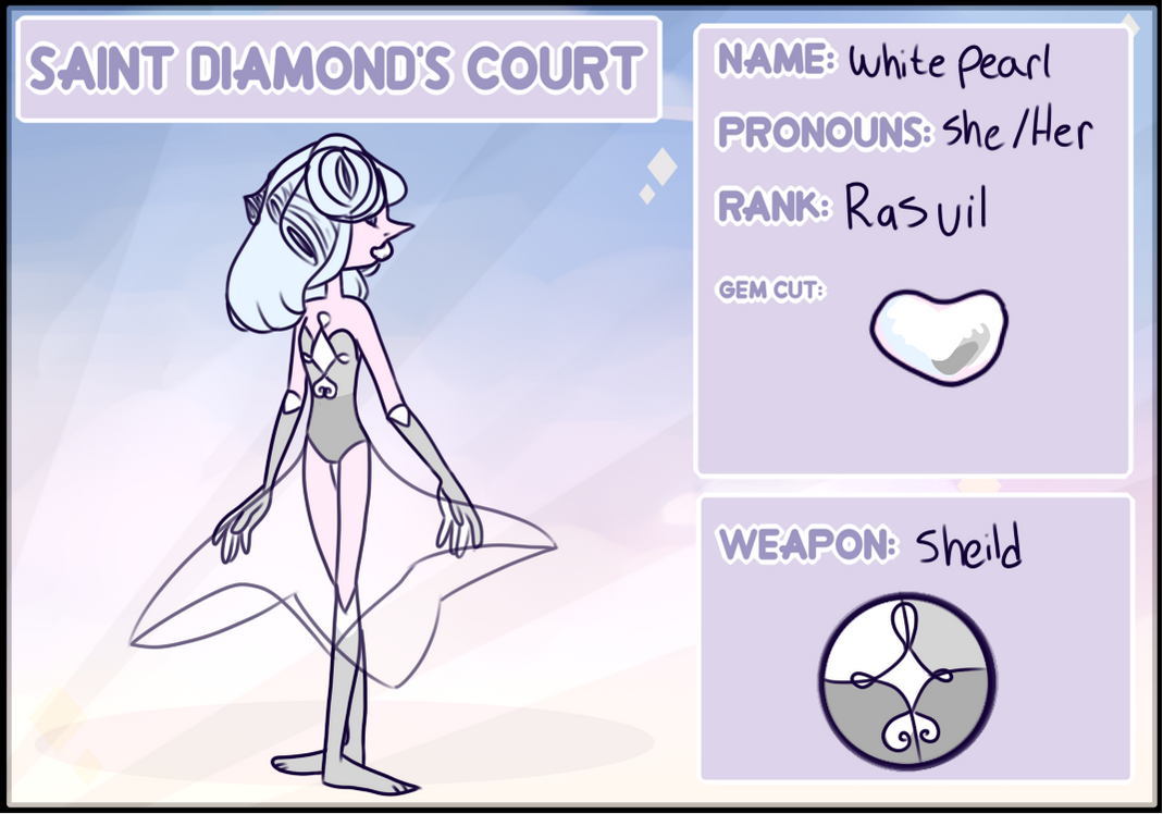 White Pearl [Applications] by SmasherlovesEvil