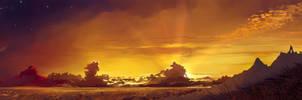 Neteri Sunset by Hangmoon
