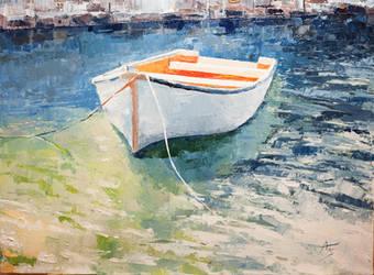 Boat - Orange by Hangmoon