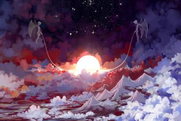 Sleeping Sun by Hangmoon