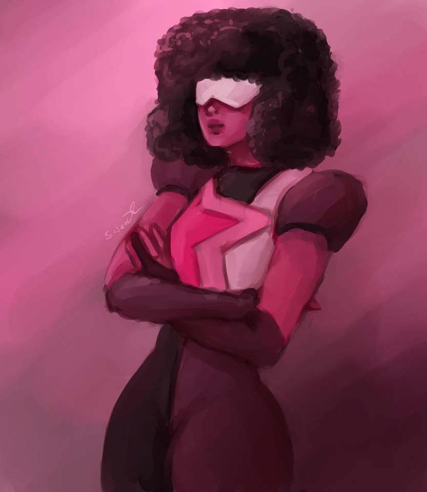 huevember day 10 Garnet from Steven Universe