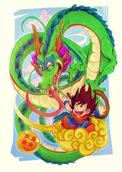 Dragon Ball by srfusao