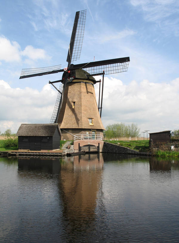 Dutch Windmill 2 stock pack sample by dierat-stock