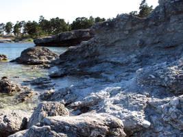 Gotland coast 3 by dierat-stock