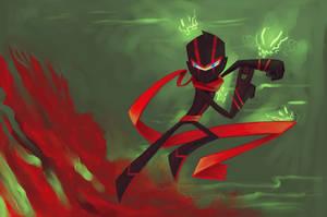 ninja bomb by sheinarton