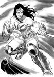 Wonder Woman commission by flavianos