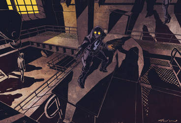Lobster Johnson color by flavianos
