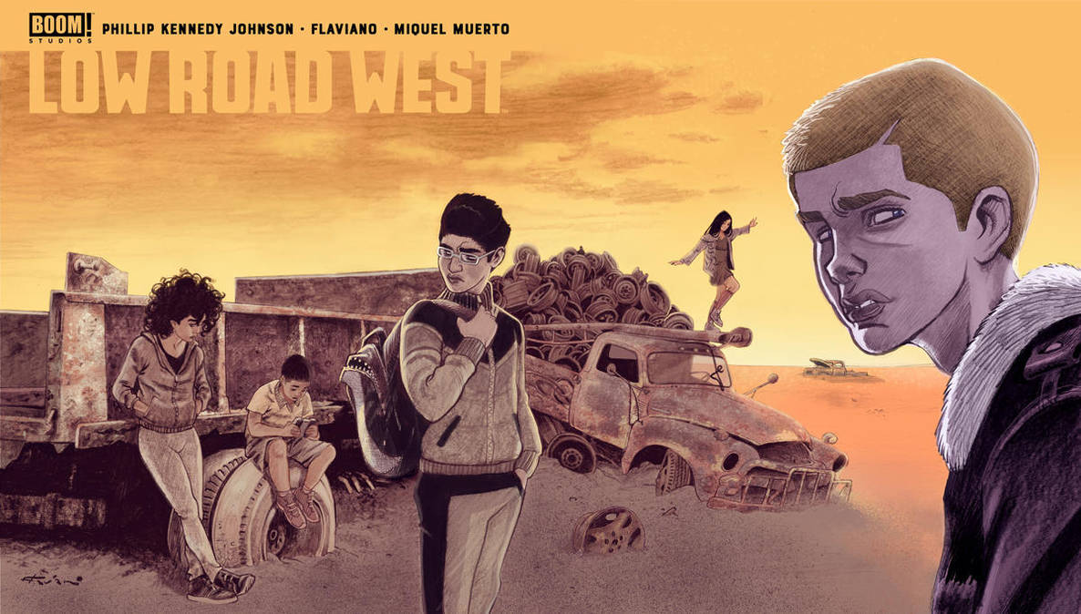 LOW ROAD WEST out tomorrow by flavianos