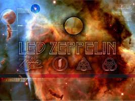 Led Zeppelin - Cosmic by redbull07