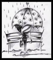 Rain by ZielonyBanan