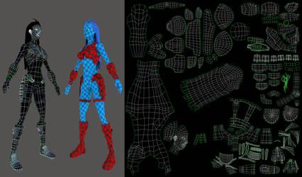 Model+UVs by monteirohq