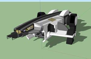 Vulcan Class Frigate by Gwentari
