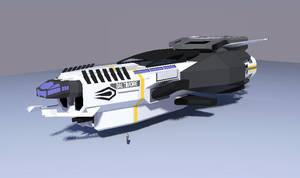 Baltimore Class Corvette [Terran] by Gwentari