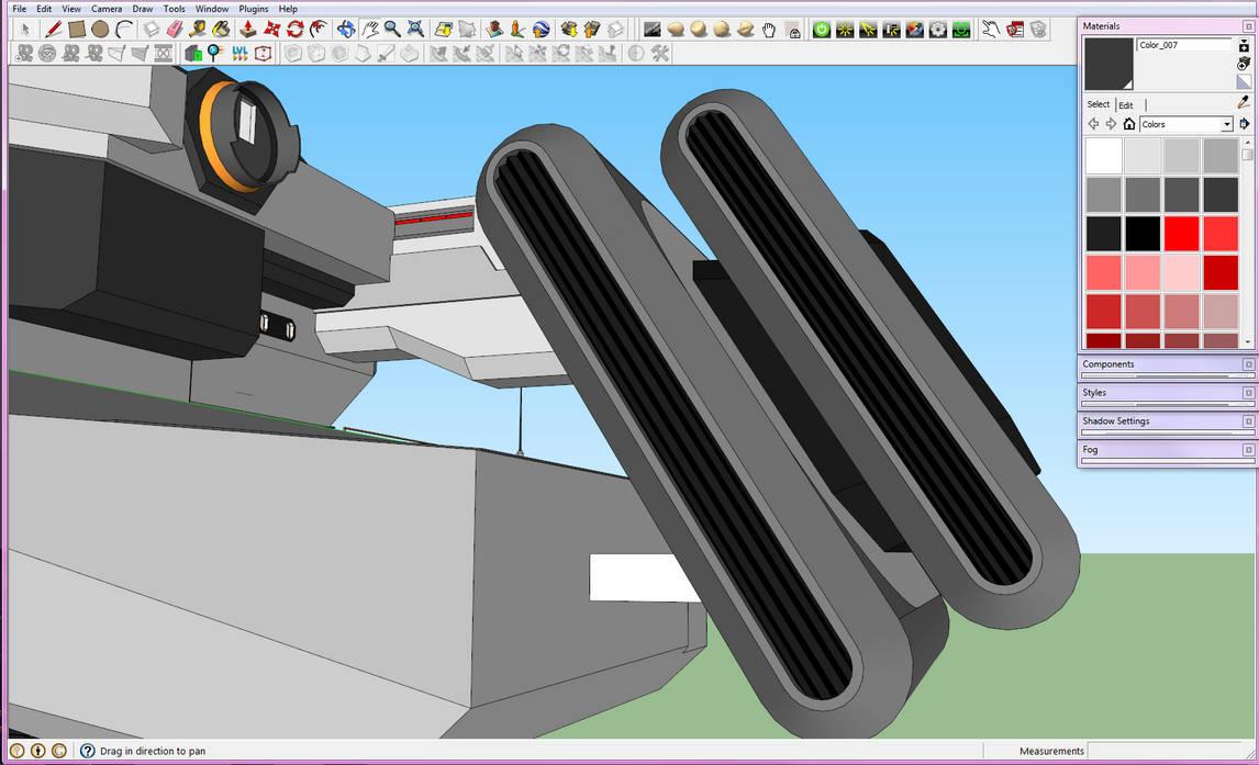 WIP Terra Industrial Capship Engines by Gwentari