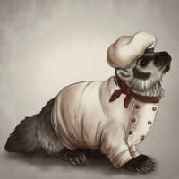Chef Vortivask by corgimancy