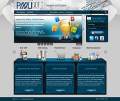 Pavli Soft WebSite by KarimStudio
