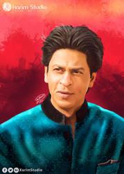 Shah Rukh Khan | Digital Painting by KarimStudio