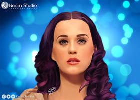 Katy Perry | Digital Painting by KarimStudio