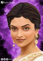 Deepika Padukone | Digital Painting by KarimStudio