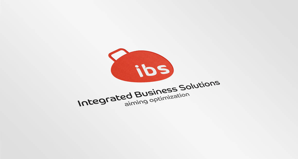 Integrated Business Solutions IBS |logo by KarimStudio